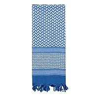 Rothco Shemagh bufanda del desierto táctico, azul /blanco