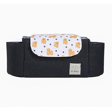 Amazon.com: QIQI Bolsa de cochecito de bebé, multifunción ...