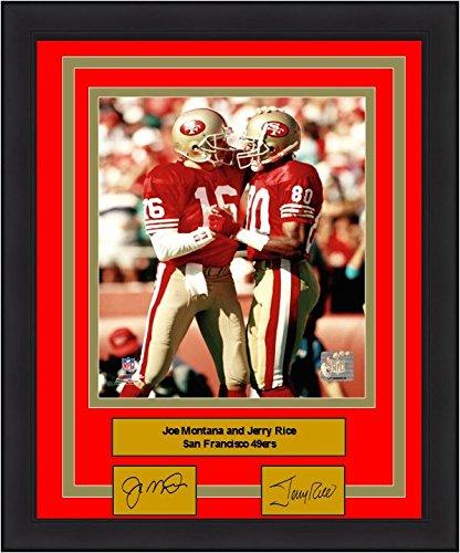 (49ers Joe Montana & Jerry Rice 8