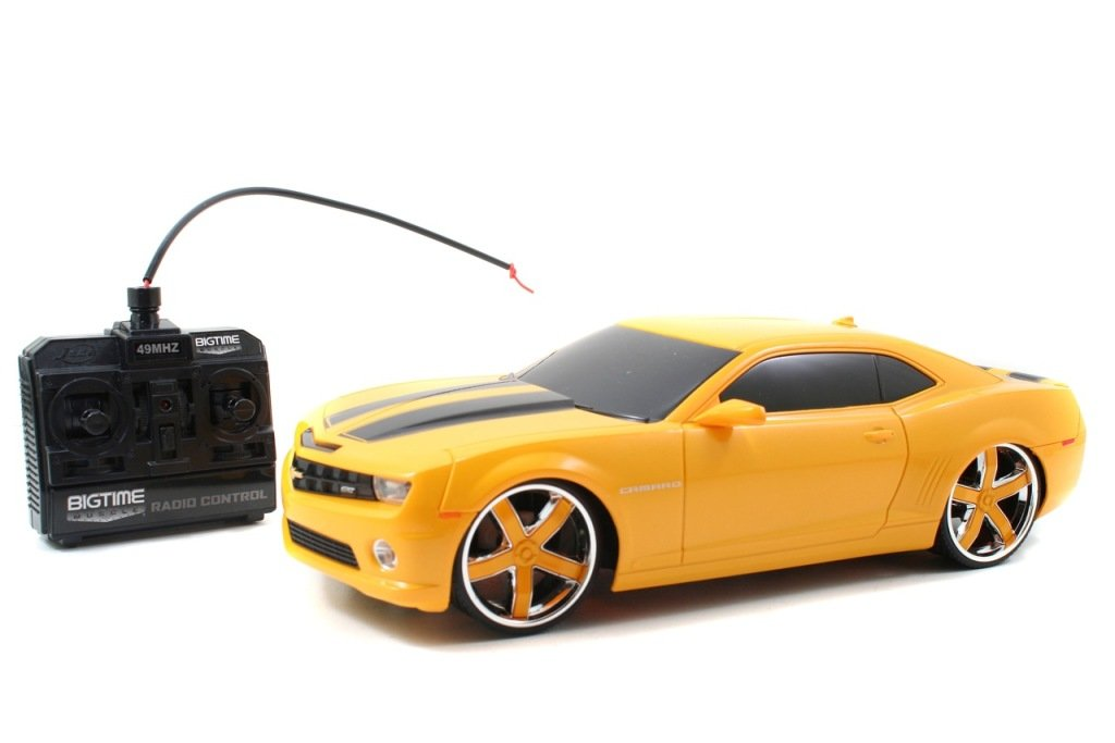 Amazon Jada Rc Bigtime Muscle Series 11 2010 Chevy Camaro Ss