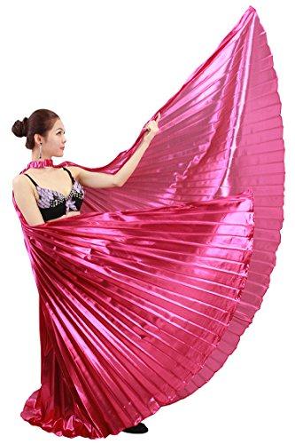 Dance Femmes Danse Performance Papillon Noble Egyptien Belly Ailes Rose Tofern Du Indien Les Ventre Costume qHxwFdzYY