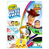 Crayola 75-7008 Wonder Coloring Book and Markers Mess Free Drawing, Toy Story 4