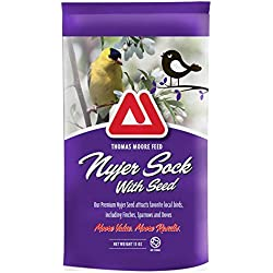 TMF Premium Quality Nyjer Sock For Birds , 13 oz