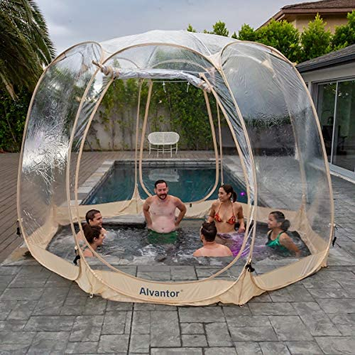 Alvantor Bubble Tent Screen House Room Camping Tent Canopy Gazebos 8-10 Person