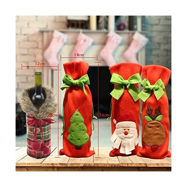 Cani in vestiti sacchetti di isolamento termico per bottiglie di vino