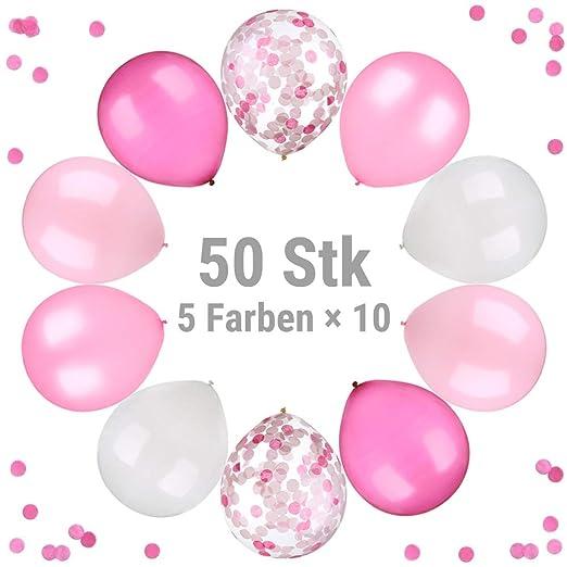 ecooe 50 Pcs Globos de Látex 12