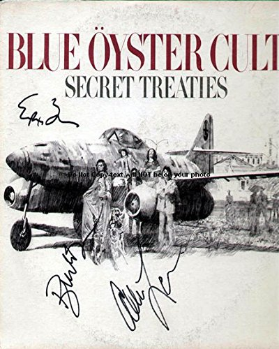 Blue Oyster Cult Autographed Preprint Signed 11x14 Poster Photo 1