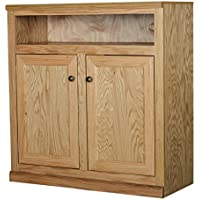 Eagle Simply Oak Collection Entertainment Console, 39, Medium Oak Finish