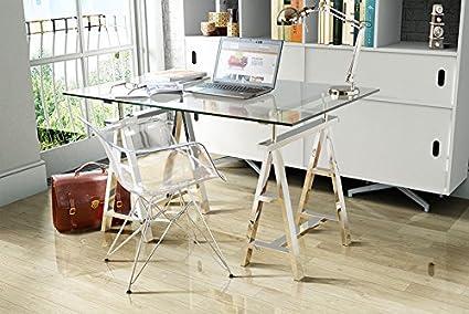 Tréteaux idées déco pour créer une table ou un bureau