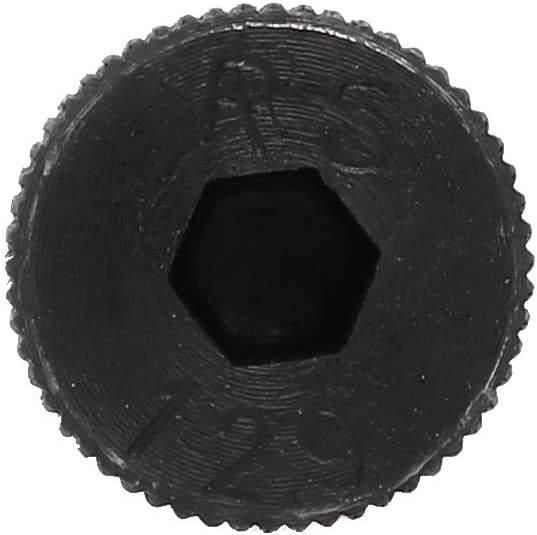 uxcell 2pcs Alloy Steel Hex Socket Drive M12x140mm Shoulder Screw M10x18mm Thread