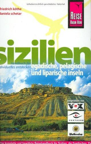 Sizilien. Egadische, Pelagische und Liparische Inseln