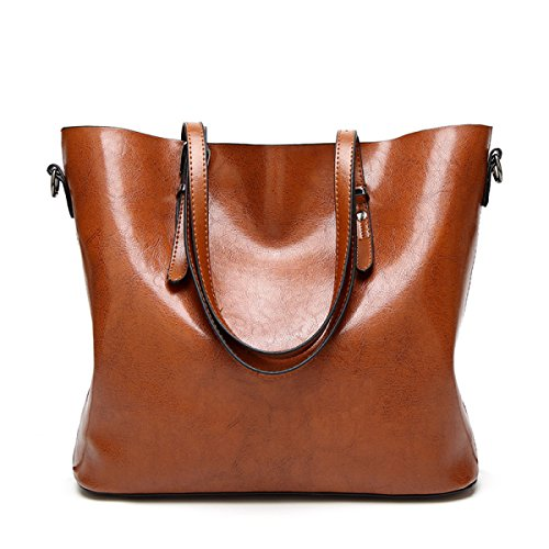 Bag Bag And Large Style Ladies Wax Of New Women Oil American Hand Red European Leather Shoulder Bag 5RRqB0