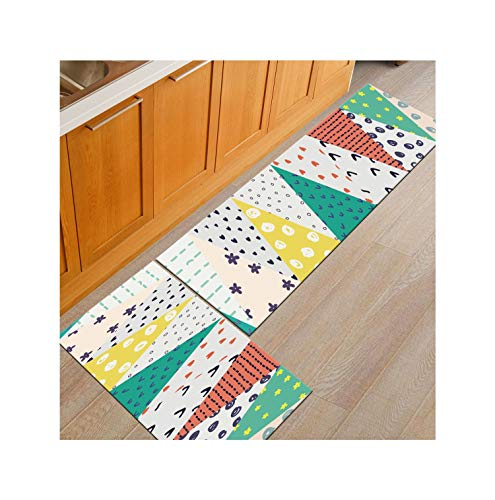Geo Tapies Mat Caet Kitchen Rug Long Floor Hallway Door Mats Entrance Outdoor Water Absorb Doormat,03,40X120