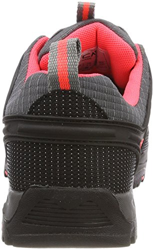 Zapatos Rigel Fluo Rise de Senderismo High CMP Gris Grey Unisex red Adulto 5Ux7Aqd