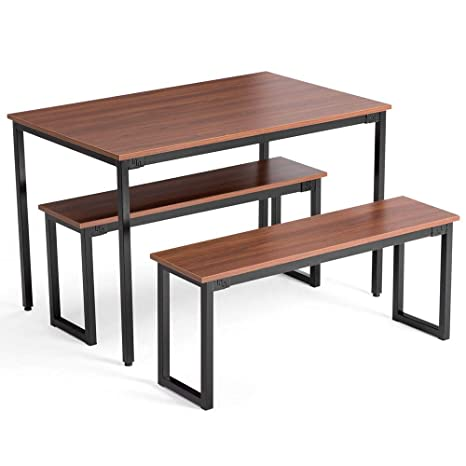 Brilliant Amazon Com Spp12 Small Kitchen Rectangular Reddish Brown Caraccident5 Cool Chair Designs And Ideas Caraccident5Info
