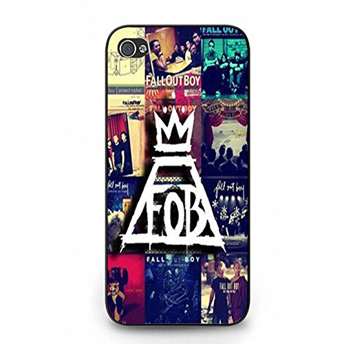 Iphone 5 5s FOB Band Cover Shell Unique Wonderful Design EMO Rock Band Fall Out Boy Phone Case Cover for Iphone 5 5s