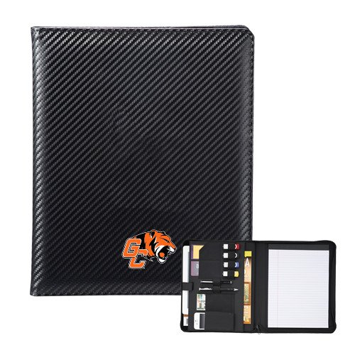 CollegeFanGear Georgetown Carbon Fiber Tech Padfolio 'Official Logo' by CollegeFanGear