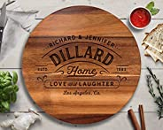 Lazy Susan, Personalized Wedding Gifts, Wedding Shower Gift, Custom Wedding Gift, Engraved Wood Gifts, Gift fo