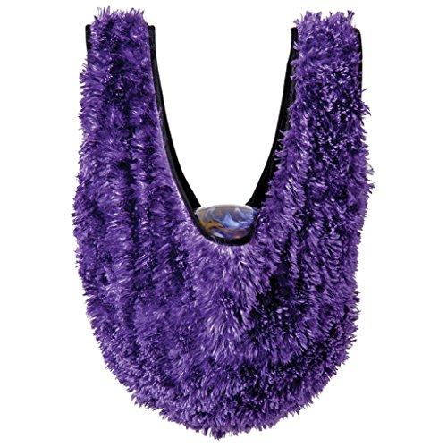 Brunswick Fuzzy See Saw- Purple