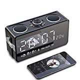 I&I Wireless Bluetooth Speaker Overweight Subwoofer Home Large Volume Outdoor Mobile Phone Audio Smart 3D Surround Small Cannon Mini Car Portable Impact Radio Alarm Clock