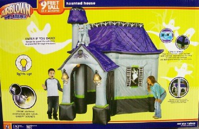 9ft airblown inflatable halloween haunted house