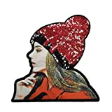 Miaomiaogo Shiny Sequin Clothes Patches Women Clothing Applique Girls Pattern Costume Paste Accessories