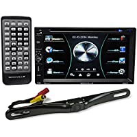 Rockville RDD7 7 Car DVD/iPhone/Pandora/USB Bluetooth Player Receiver + Camera