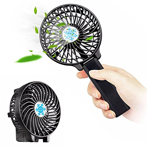 Portable Fan With Led Light - 5