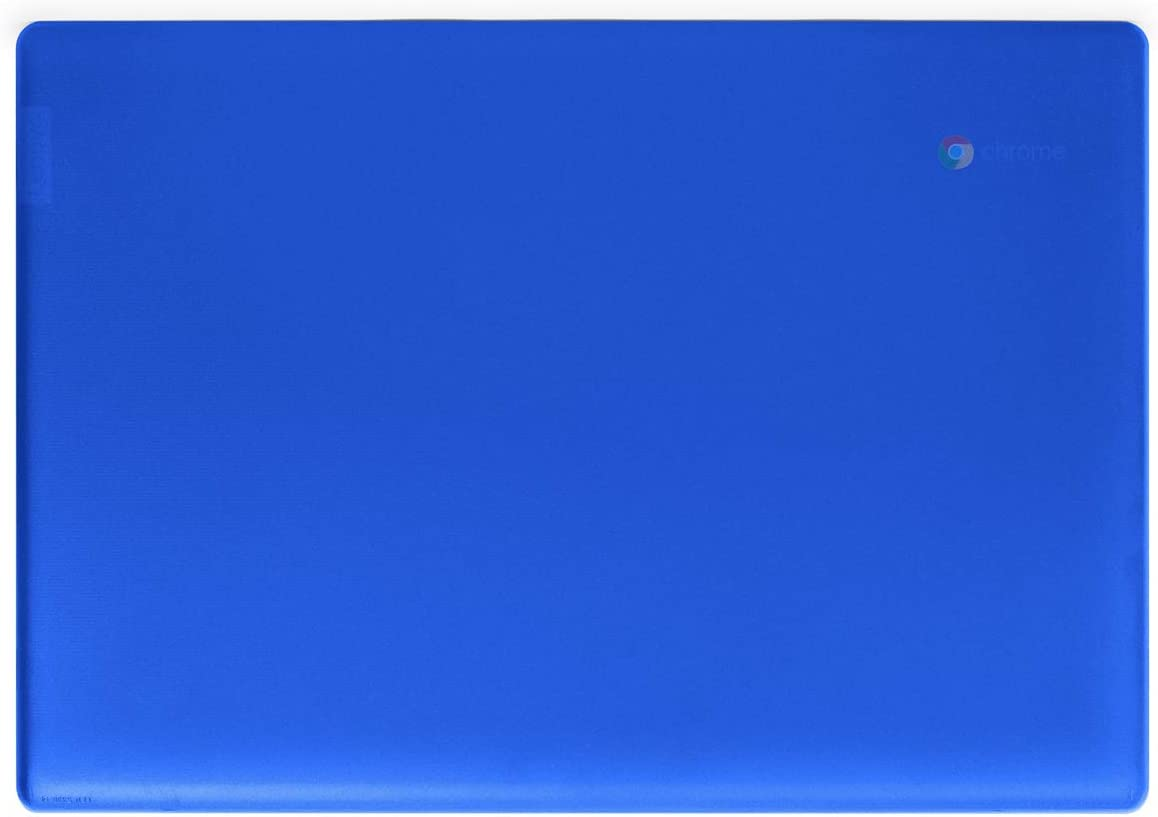 "mCover Hard Shell Case for Late-2019 14"" Lenovo S340 Series Chromebook Laptop (NOT Fitting Older 14"" Lenovo N42 / S330 and 11.6"" N22 / N23 / 100E / 300E / 500E, etc) (Blue)"