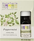 Aura Cacia Essential Oil, Peppermint, 0.5 Ounce