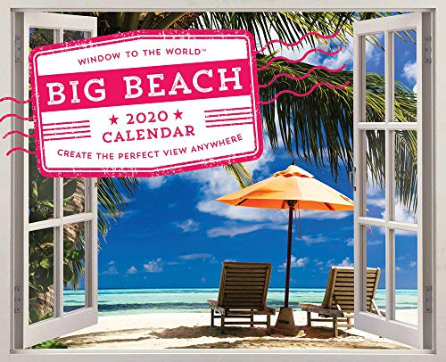 - The 2020 Big Beach Wall Poster Calendar: Create the Perfect View Anywhere