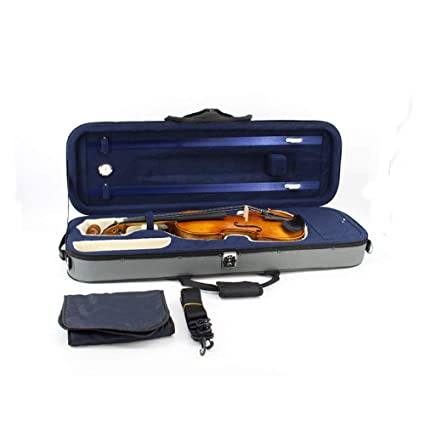 Estuche de violin Estuche rígido duradero para violín con ...