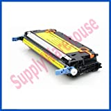 High Yield HP Q6472A Yellow Toner Cartridge for HP Color LaserJet 3600 3600n 3600dn Series Printers, Remanufactured, Office Central
