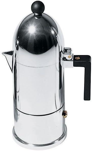 Alessi A9095/3 B M. La Cupola Espresso Coffee Mug, Black