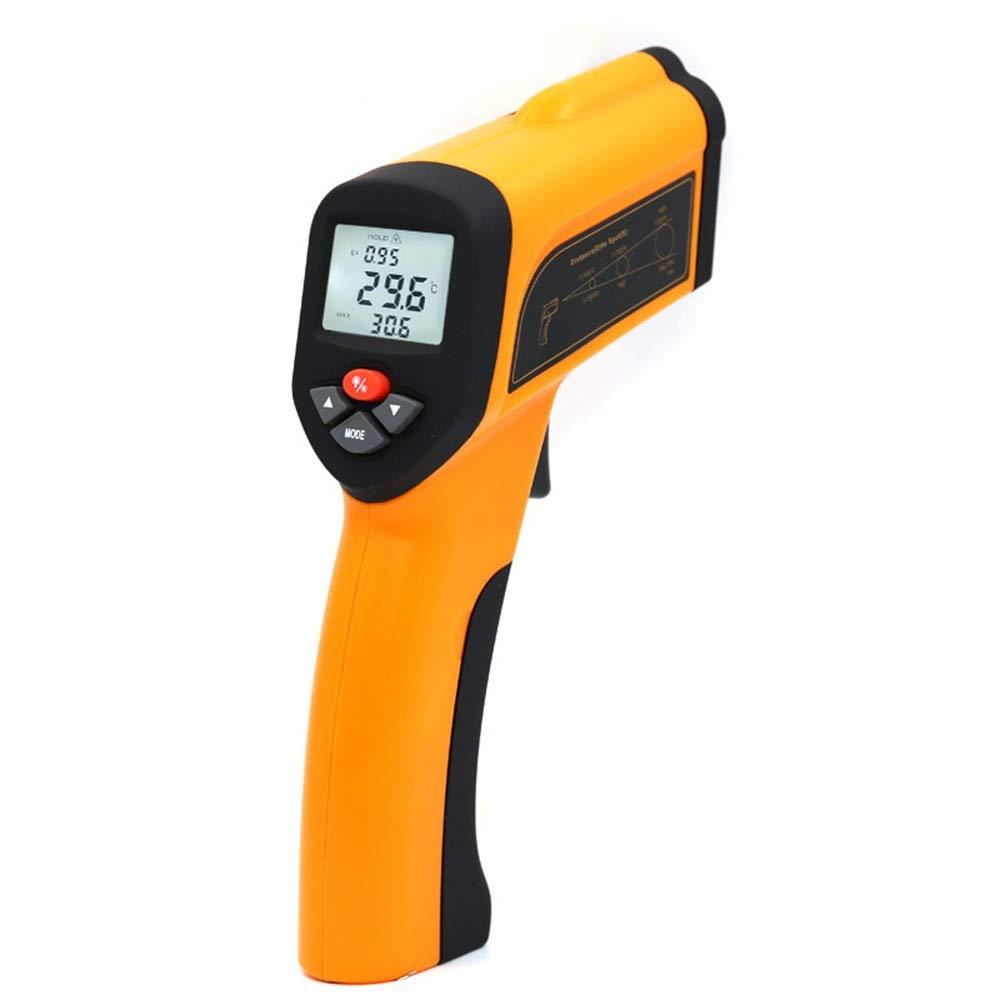 ALLCIAA 26015554mm Measurement Accuracy: ±2%/±2°C High Temperature Infrared Thermometer 1300 ° Industrial Grade Kiln Forging Temperature Gun (Size : 26015554 mm)