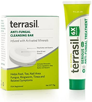 terrasil%C2%AE Anti fungal Treatment Cleansing Soap product image