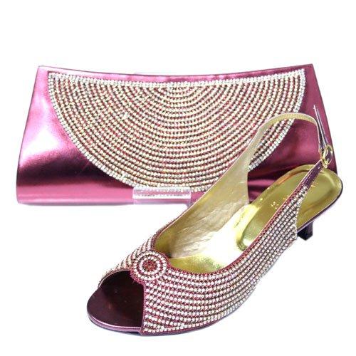 Rosso Sandali Walk amp; Donna Wear bordeaux Uk 17XwRtq