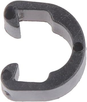 10x Bremsleitung Bremszüge C Clip schwarz Zugbefestigung Klammer 61-79mm MTB