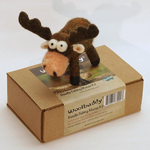 Woolbuddy Needle Felting Moose Kit by Woolbuddy (Image #3)