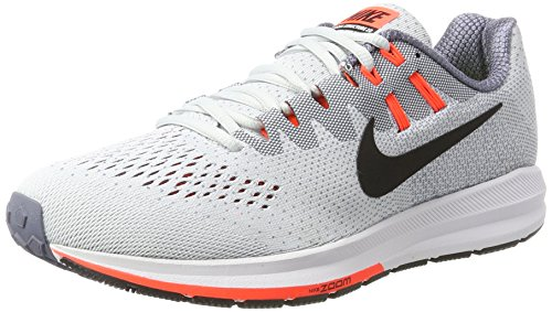 Gris light Carbon Crimson Air black Uomo 20 Structure Platinum total Zoom Trail pure Rouge Da Nike Running Scarpe Argento qZP6xwZdU