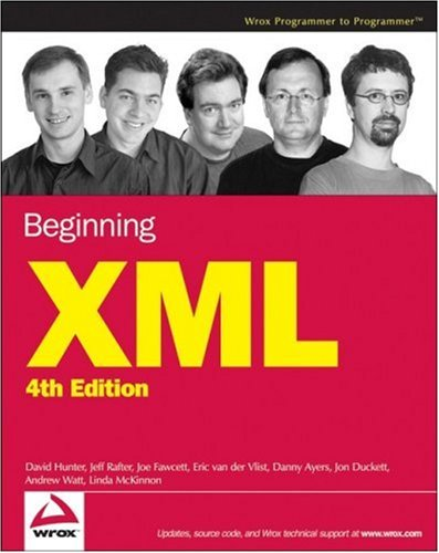 Book cover from Beginning XML, 4th Edition by David Hunter