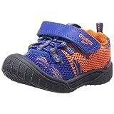 OshKosh B'Gosh Superfly Girl's and Boy's Bumptoe Sneaker, Blue/Orange, 9 M US Toddler