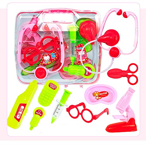 Gbell Kids Baby Pretend Doctor Medical Play Carry Case - Tod