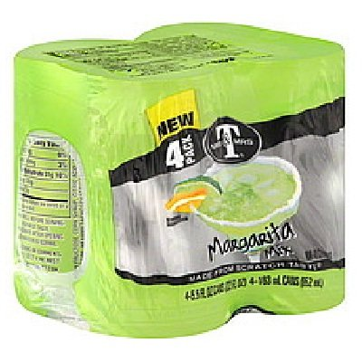 Mr & Mrs T Can Mixer 4pk Margarita by Mr. & Mrs. T
