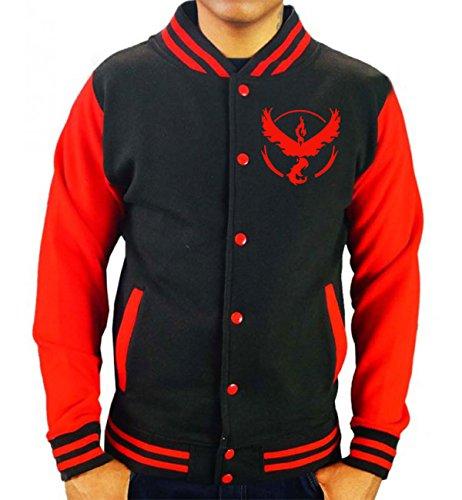 Team-Valor-Mystic-Instinct-T-Shirt-Varsity-Jacket-Pokemon-Go-Fan-Inspired-Mens-Jumper