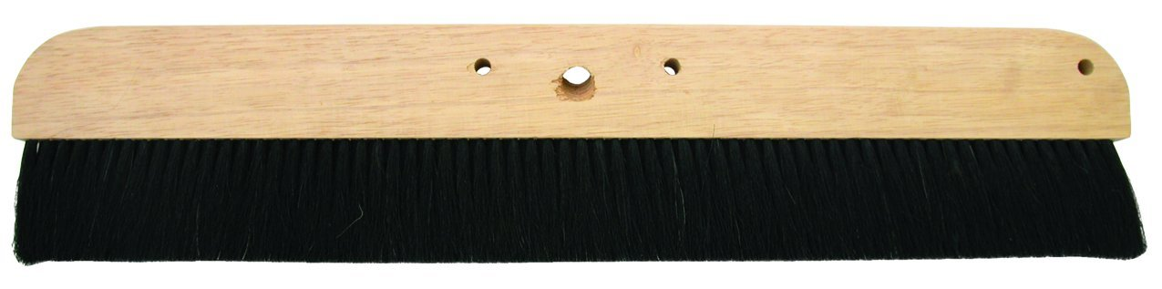 MARSHALLTOWN The Premier Line 6599 48-Inch Horsehair Concrete Finishing Broom