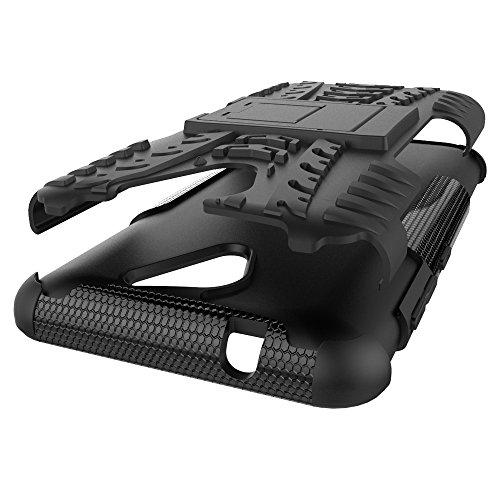 OFU®Para ZTE Blade A510 5.0 Smartphone, Híbrido caja de la armadura para el teléfono ZTE Blade A510 5.0 resistente a prueba de golpes contra la lucha de viaje accesorios esenciales del teléfono-nara púrpura
