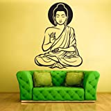 Wall Vinyl Sticker Decals Decor Art Bedroom Design Buddha God Indian (Z623)