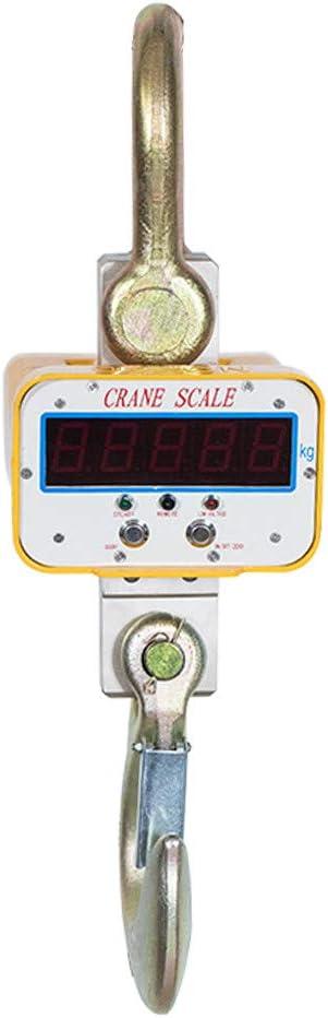 InLoveArts Digital Kranwaage 2000 kg Digitale h/ängende elektronische Kranwaagen mit Fernbedienung Industriewaage Digital H/ängewaage Crane Scale