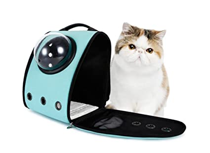 AnGe Mochila para gatos, mochila bolsa bolso hombro para llevar mascotas gatos y perros a
